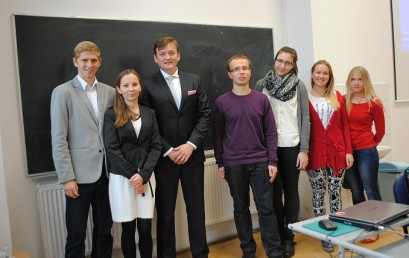 "Lectures ""Profession: Diplomat"" at Kozminski University and Gdańsk University of Technology"