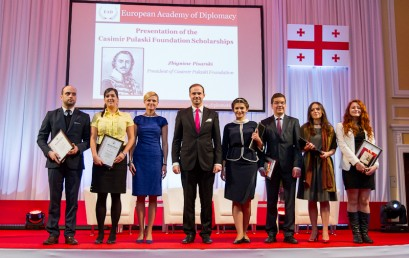 Celebrating the Inauguration if the 11th Edition of Academy of Young Diplomats