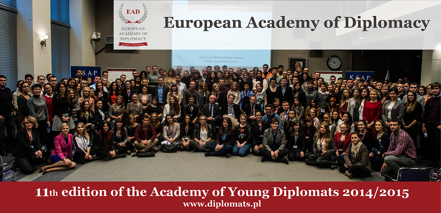 Conference of the 11th edition of the Academy of Young Diplomats
