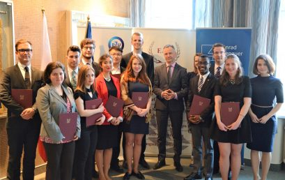 Apply for the Fall European Diplomacy Workshop 2017