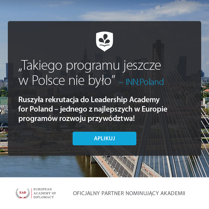 EAD a Nominating Partner for the Leadership Academy of Poland!