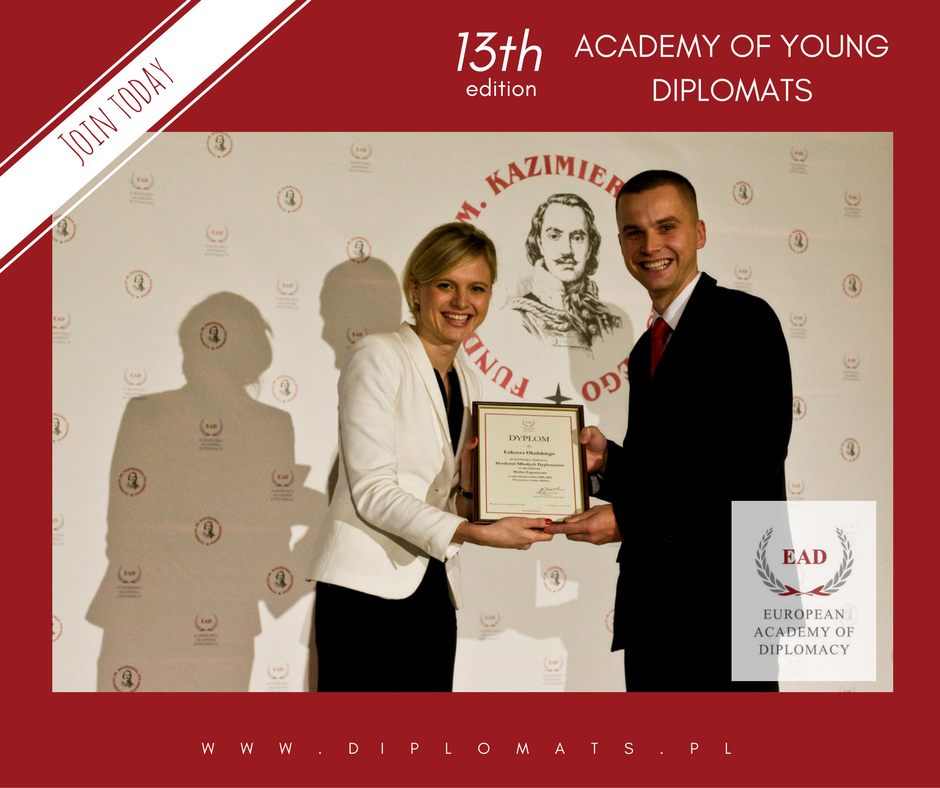 Scholarships for Academy of Young Diplomats!