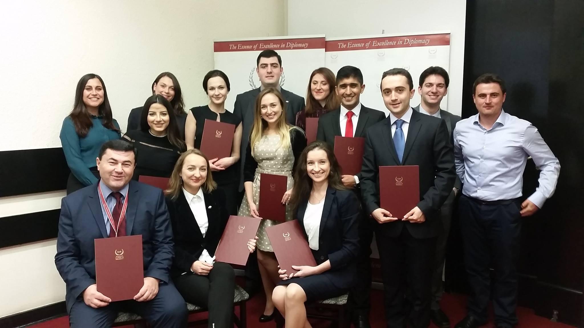 Scholarships for the European Diplomacy Workshop awarded !