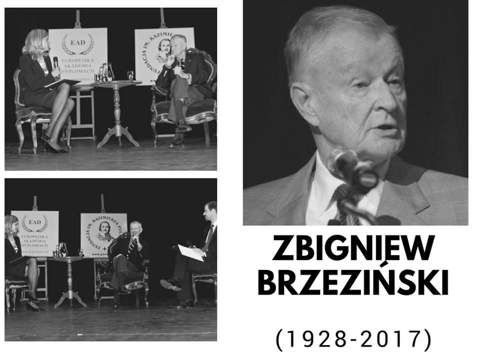 Pożegnanie Prof.Zbigniewa Brzezińskiego