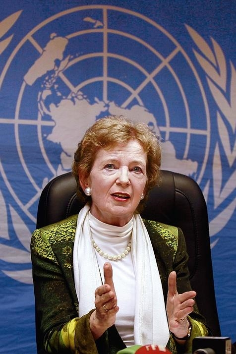 AYD meeting with President Mary Robinson