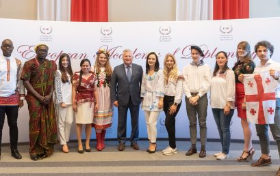 Former President of the Republic of Poland Aleksander Kwaśniewski at the closing session of the AYD 14th edition