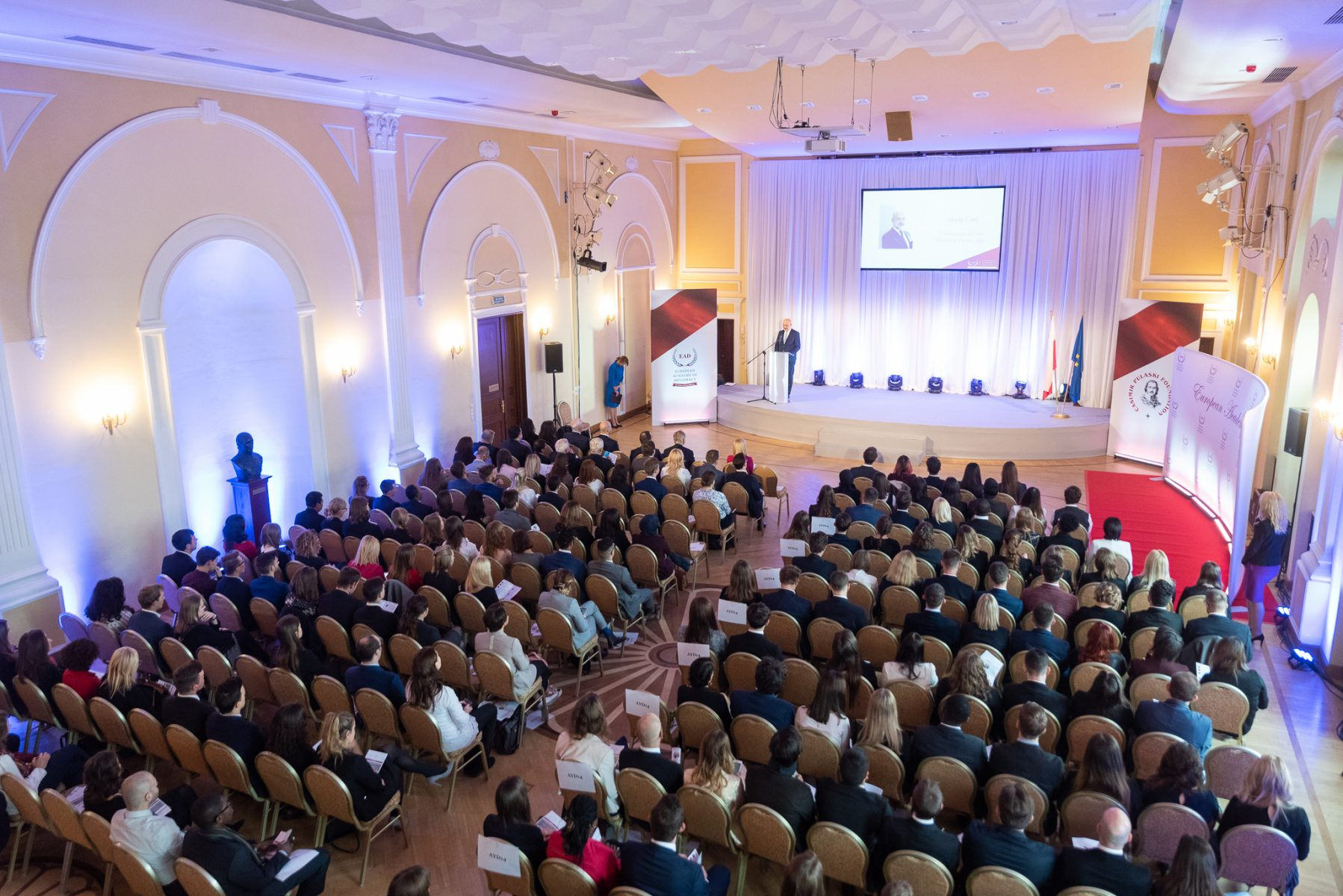 Inauguration and Graduation of the Academy of Young Diplomats 2018/2019