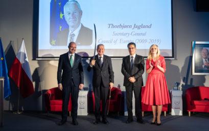 The Knight of Freedom Award Presentation