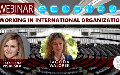 Webinar: Working in International Organizations