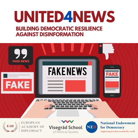 United4News – Building Democratic Resilience against Disinformation
