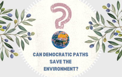 Mission Green Diplomacy. Democratic Paths to Saving the Environment