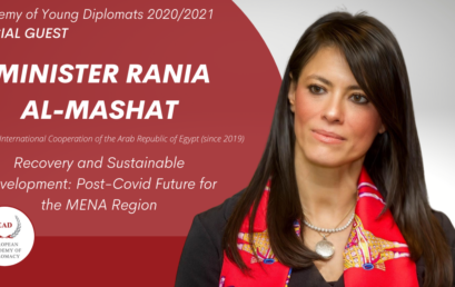 Special Guest at the Academy of Young Diplomats 2020/2021