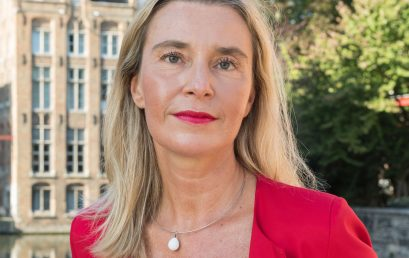 Special Guest – Federica Mogherini at the Academy of Young Diplomats