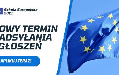 Szkoła Europejska 2021 – Rekrutacja do programu