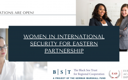 Recruitment for Women in International Security for Eastern Partnership