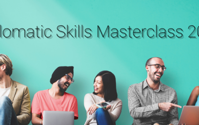 Applications for the Fall Edition of the Diplomatic Skills Masterclass are open!